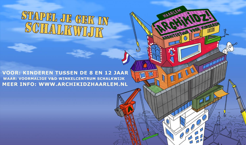 Goed nieuws! Je kan je inschrijven voor Archikidz Haarlem 2018